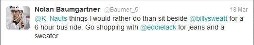 Baumer Tweet