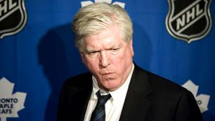 Brian Burke, tongue in cheek