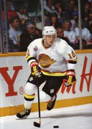 Pavel Bure of the Vancouver Canucks